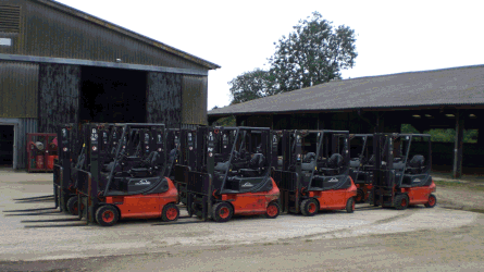 Fork Truck Hire